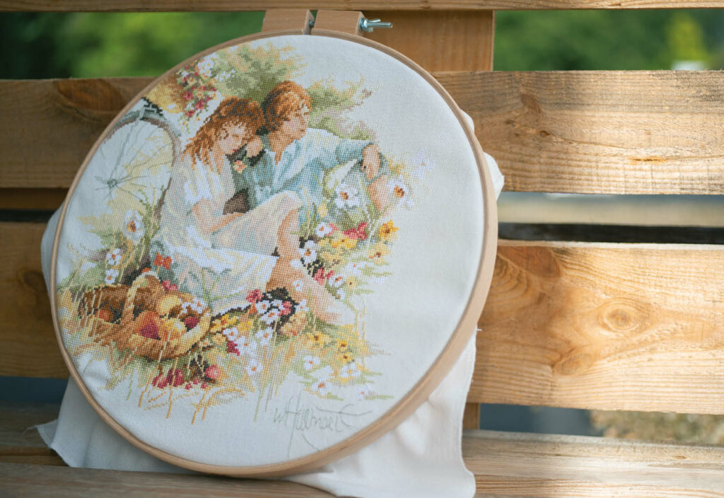 Counted cross stitch kit Picnic PN-0007966