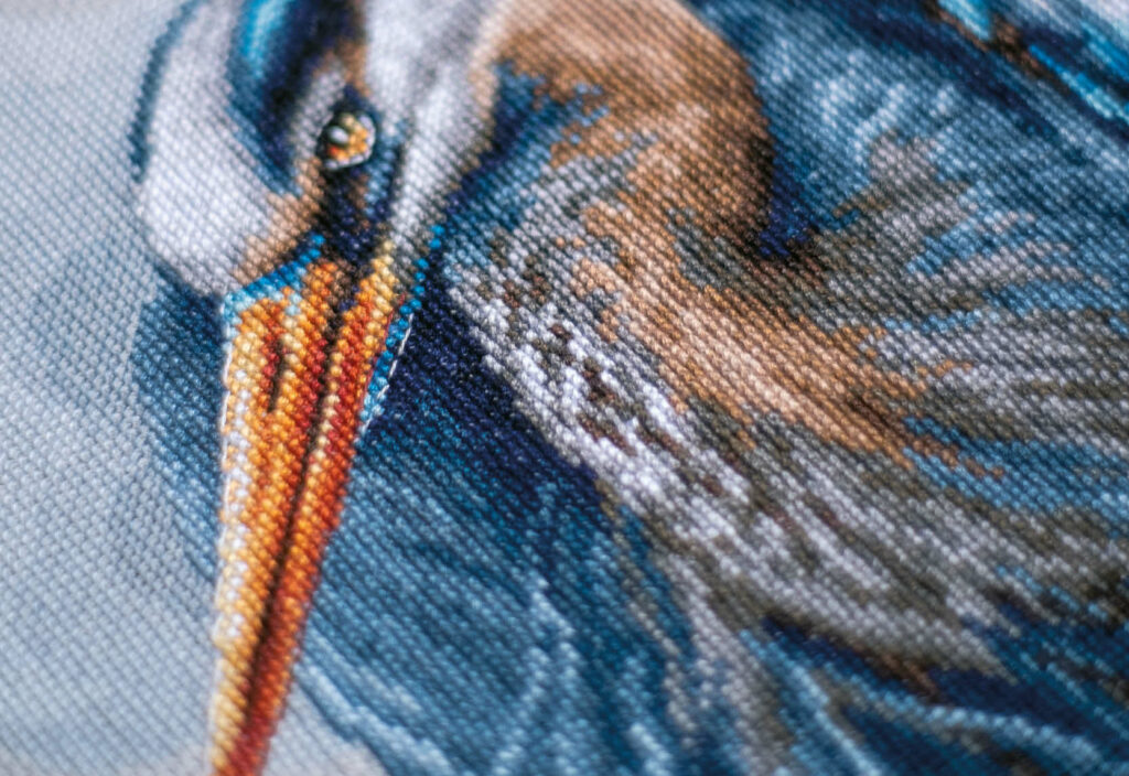 Counted cross stitch kit Great blue herons PN-0185890