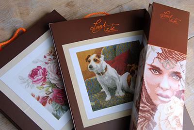 Packaging LanArte high quality needlework kits